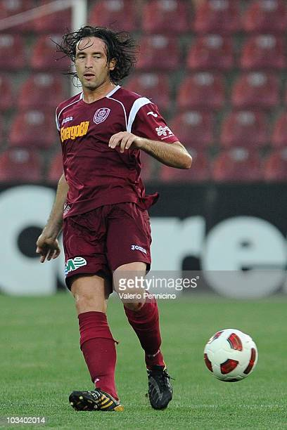 Felice Piccolo of CFR 1907 Cluj in action during the Liga 1 match between CFR 1907 Cluj and Astra Ploiesti at Constantin Radulescu Stadium on August...