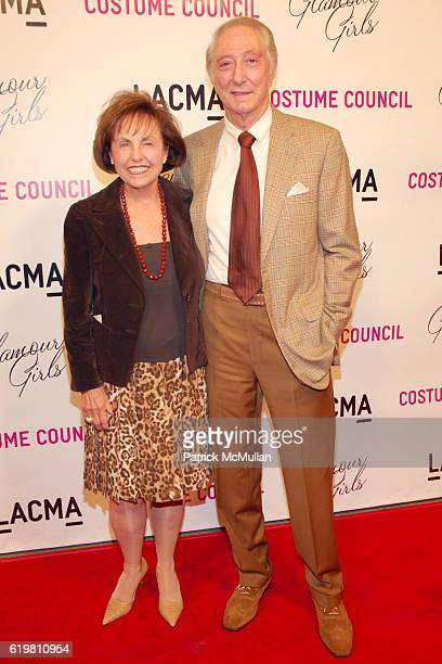 Felice Reston and Herbert Reston attend LACMA Costume Council hosts Glamour Girls by Patrick McMullan at LACMA on October 14 2008 in Los Angeles Ca