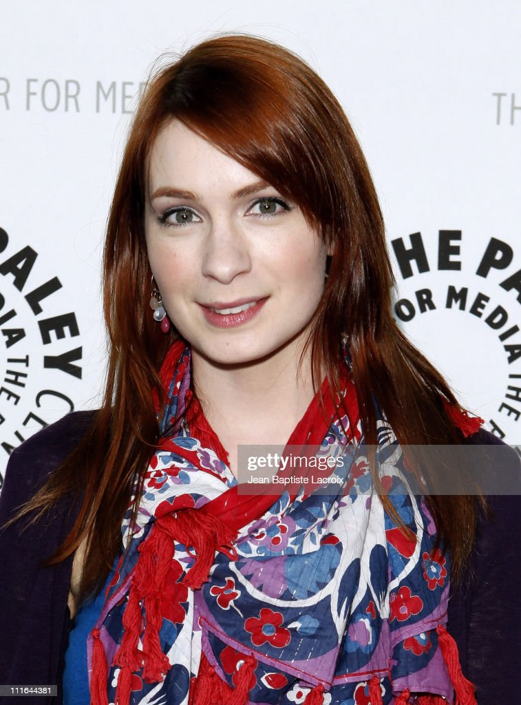 Felicia Day arrives at PaleyFest09 presentation of 'Dr Horrible's SingAlong Blog' at the ArcLight Cinemas on April 14 2009 in Hollywood California