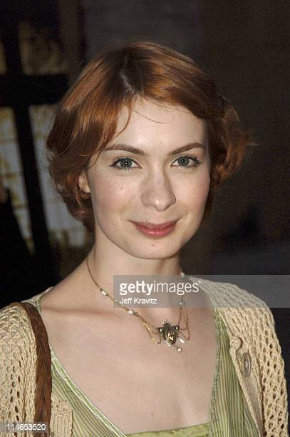 Felicia Day during HBO Films Presents 'Warm Springs' Premiere Red Carpet at Egyptian Theatre in Los Angeles California United States