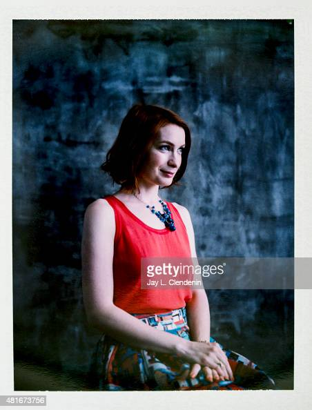 Felicia Day is photographed on polaroid film at ComicCon International 2015 for Los Angeles Times on July 9 2015 in San Diego California PUBLISHED...