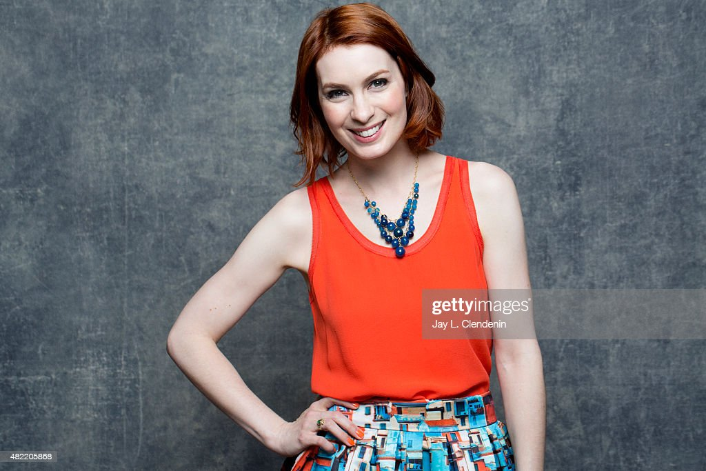 Felicia Day poses for a portrait at Comic-Con International 2015 for Los Angeles Times on July 9, 2015 in San Diego, California. PUBLISHED IMAGE.