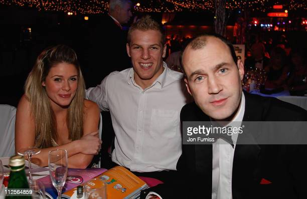 Felicia Field James Haskell and Johnny Vaughan during Capital Rocks in association with Capital Radio and the charity Help a London Child held at the...