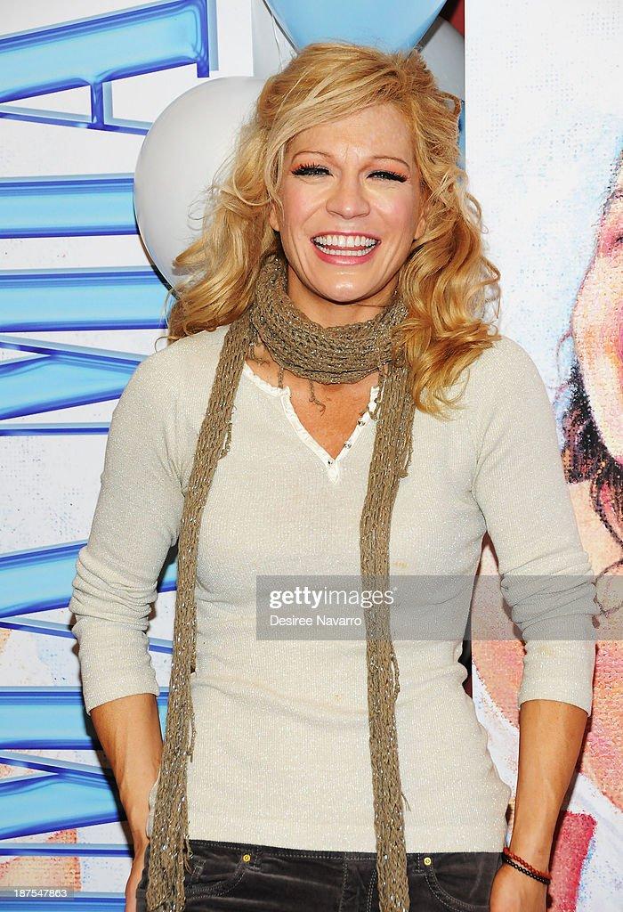 Felicia Finley attends the 5,000 performance celebration of 'Mamma Mia!' on Broadwayat Sardi's on November 9, 2013 in New York City.
