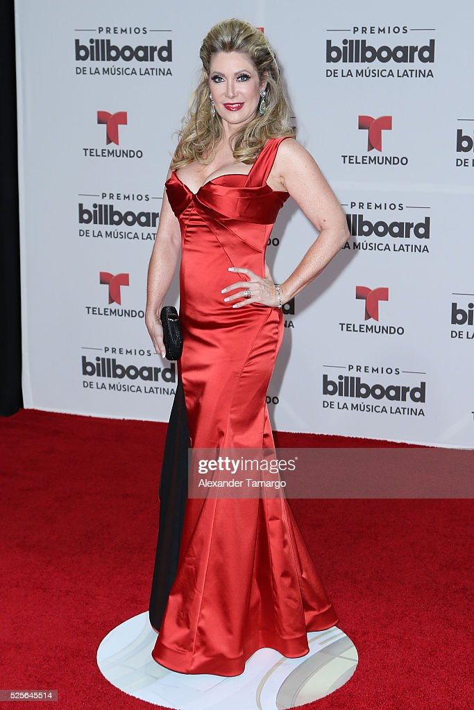 Felicia Mercado attends the Billboard Latin Music Awards at Bank United Center on April 28, 2016 in Miami, Florida.