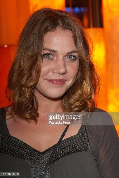 Felicitas Woll at the Premiere Party In the film 'The Yellow Handkerchief' In Josty the Sony Center in Berlin