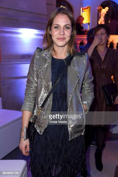 Felicitas Woll attends the Blue Hour Reception hosted by ARD during the 67th Berlinale International Film Festival Berlin on February 10 2017 in...