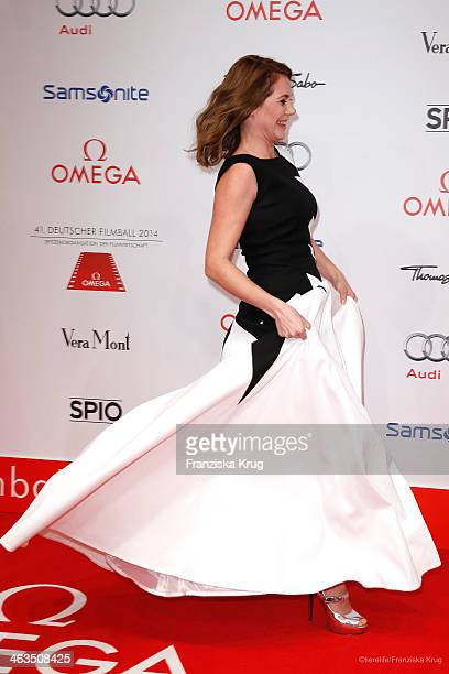 Felicitas Woll attends the German Film Ball 2014 on January 18 2014 in Munich Germany