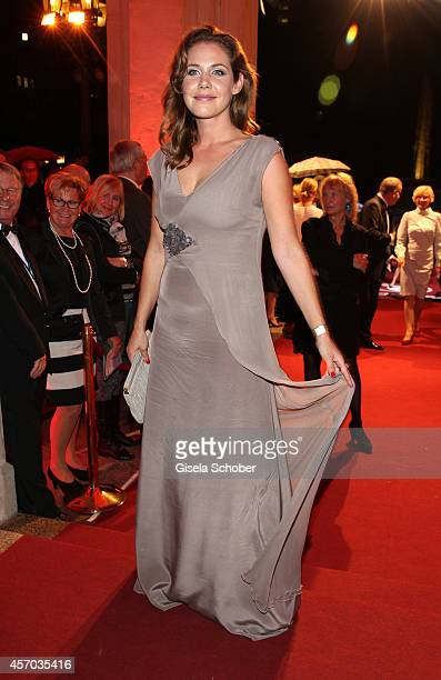 Felicitas Woll attends the Hessian Film And Cinema Award 2014 on October 10 2014 at Alte Oper in Frankfurt am Main Germany