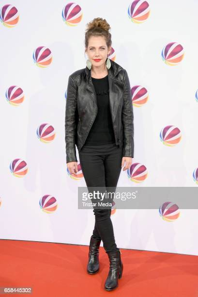 Felicitas Woll attends the photo call for the television film 'Nackt Das Netz vergisst nie' at Astor Film Lounge on March 27 2017 in Berlin Germany