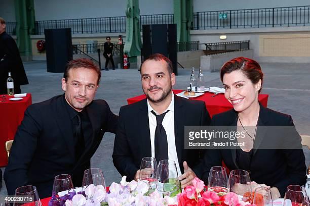 Felicitators sale Vincent Perez Francois Xavier Demaison and Daphne Roulier attend 'The strange city' Exhibition by Ilya and Emilia Kabakov at...
