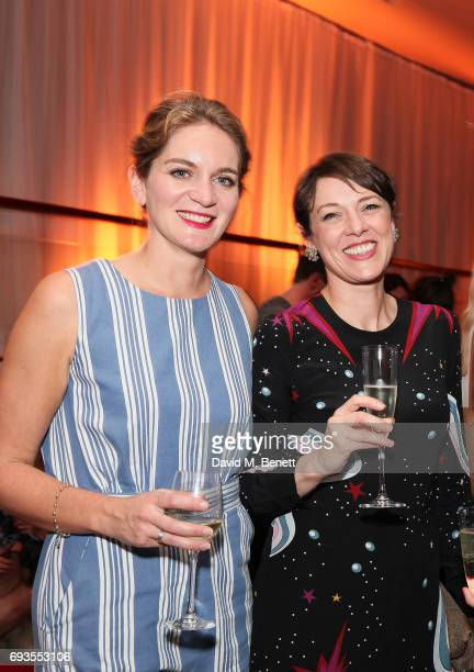 Felicity Blunt and guest attend the Baileys Women's Prize For Fiction Awards 2017 at The Royal Festival Hall on June 7 2017 in London England