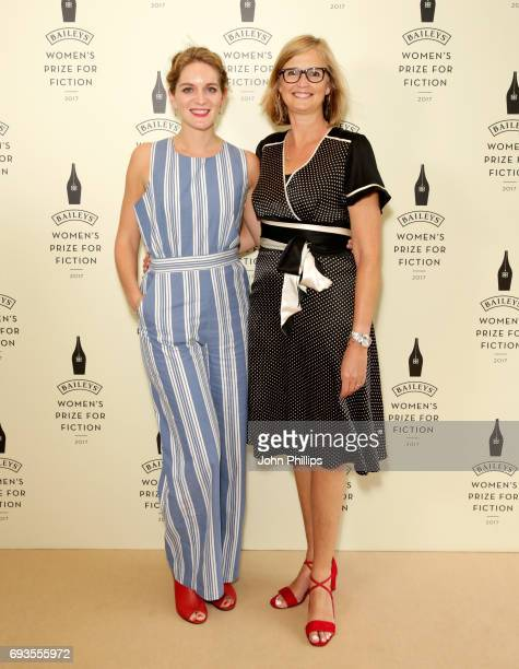 Felicity Blunt and Joanna Prior attend the Baileys Women's Prize for Fiction 2017 at the Royal Festival Hall on June 7 2017 in London England