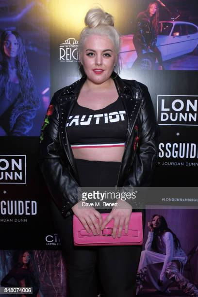 Felicity Hayward attends LON DUNN x Missguided Official Launch Party Hosted by Jourdan Dunn at The London Reign on September 16 2017 in London England