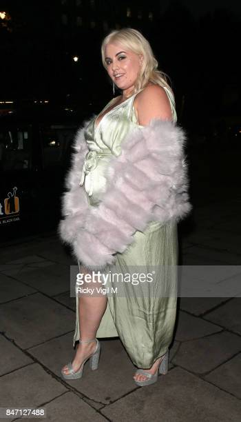 Felicity Hayward attends the exclusive New Look and British Fashion Council party launching London Fashion Week September 2017 at The Store Studios...