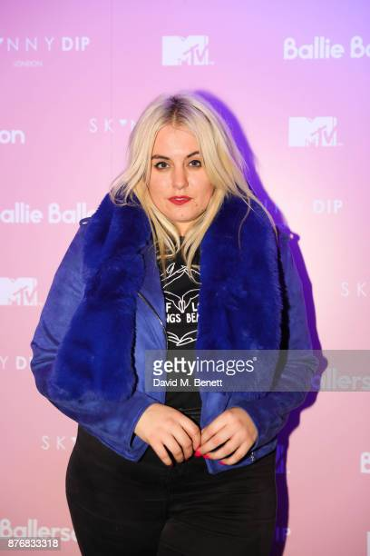 Felicity Hayward attends the launch of the Skinnydip x MTV collection at Ballie Ballerson on November 20 2017 in London England