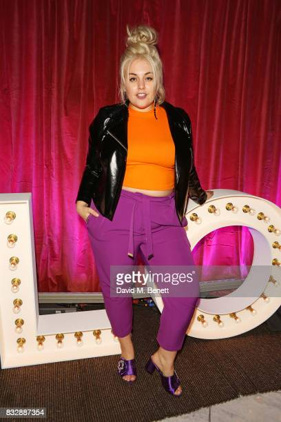 Felicity Hayward attends the Look Of The Day launch party in the Radio Rooftop Bar at the ME Hotel on August 16 2017 in London England