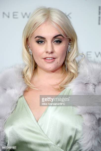 Felicity Hayward attends the New Look and the British Fashion Council LFW Launch Party during London Fashion Week September 2017 on September 14 2017...