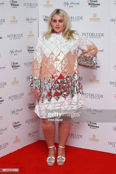 Felicity Hayward attends the World Premiere of 'Interlude In Prague' at Odeon Leicester Square on May 11 2017 in London England