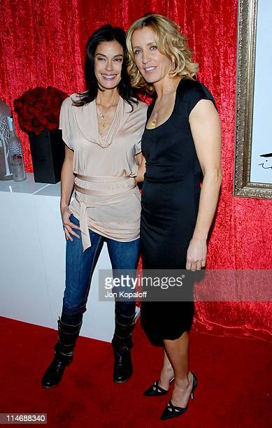 Felicity Huffman and Teri Hatcher during Cosmopolitan Invites You to Celebrate the Publication of Felicity Huffman's 'A Practical Handbook for the...
