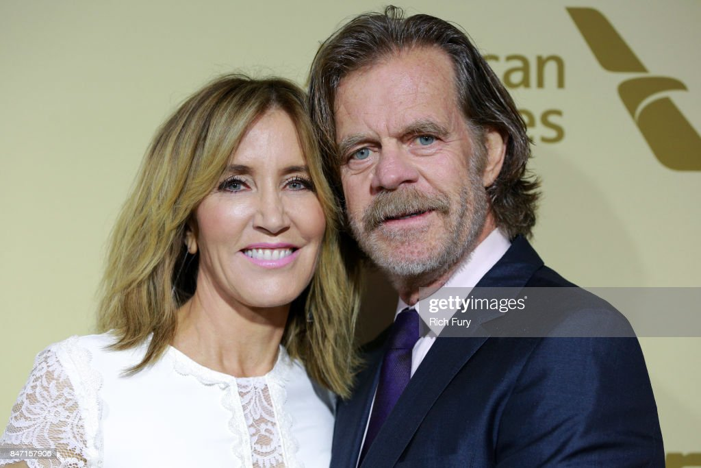 Felicity Huffman (L) and William H. Macy attend The Hollywood Reporter and SAG-AFTRA Inaugural Emmy Nominees Night presented by American Airlines, Breguet, and Dacor at the Waldorf Astoria Beverly Hills on September 14, 2017 in Beverly Hills, California.