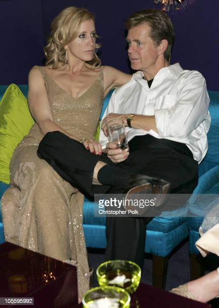 Felicity Huffman and William H Macy during Instyle/Warner Bros Golden Globe Awards Post Party Inside at Beverly Hills Hilton in Beverly Hills...