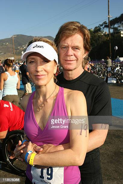 Felicity Huffman and William H Macy during The 20th Annual Nautica Malibu Triathlon for the Elizabeth Glaser Pediatric AIDS Foundation at Zuma Beach...