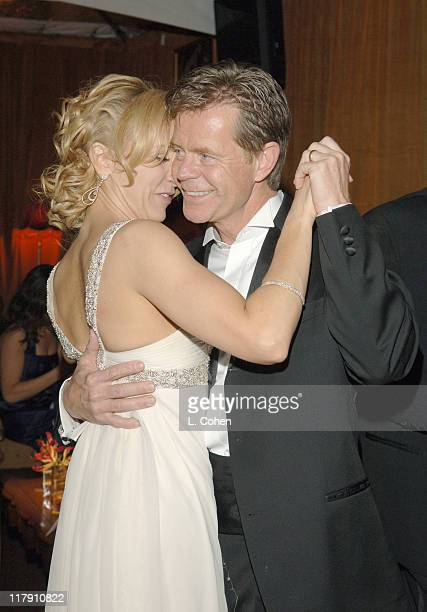 Felicity Huffman and William H Macy during The Weinstein Company Glamour Magazine 2006 Golden Globes After Party at Trader Vic's in Beverly Hills...