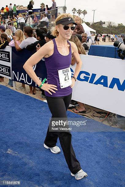Felicity Huffman attends the 23rd Annual Nautica Malibu Triathalon at Zuma Beach on September 13 2009 in Malibu California