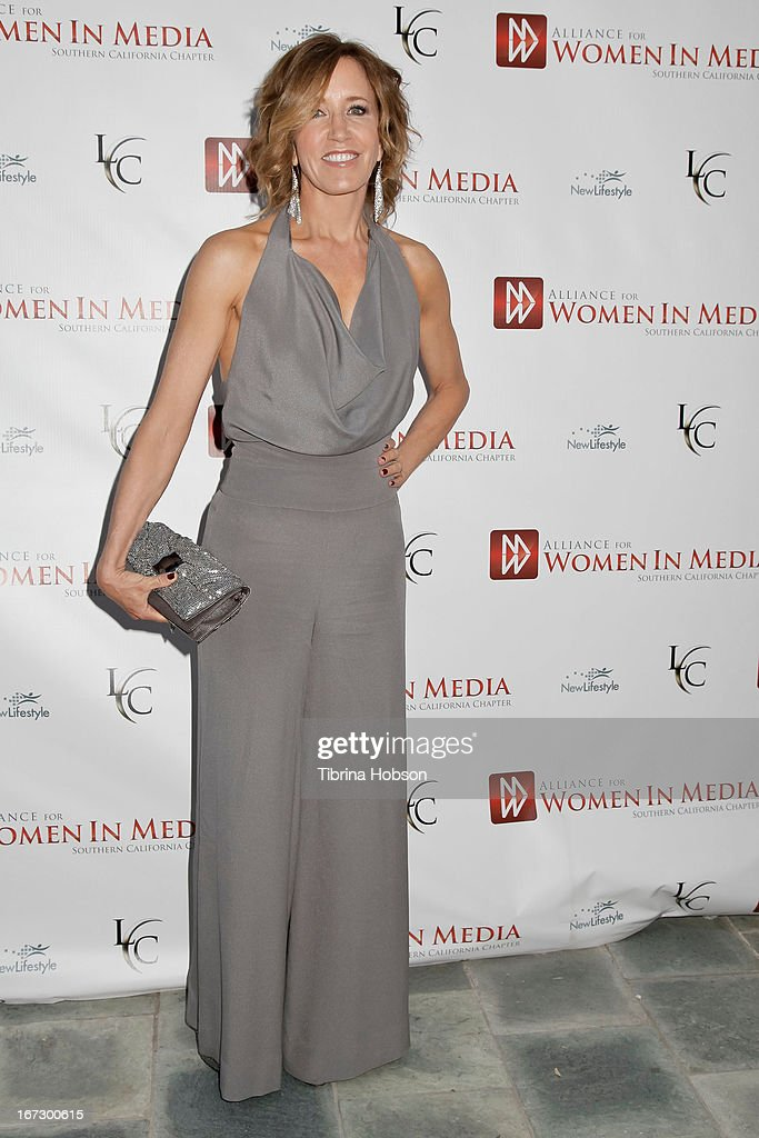 Felicity Huffman attends the 56th annual Genii Awards at Skirball Cultural Center on April 23, 2013 in Los Angeles, California.