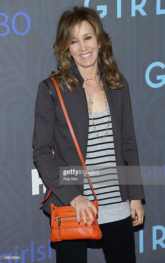 Felicity Huffman attends the HBO 'Girls' season 2 premiere at the NYU Skirball Center on January 9, 2013 in New York City.