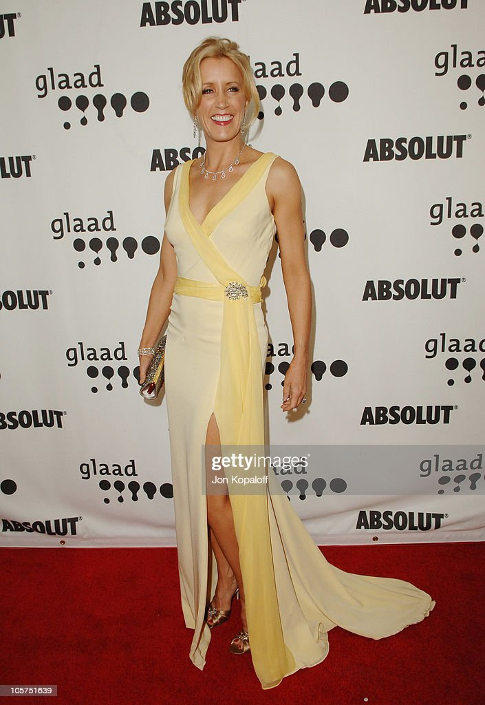 <a gi-track='captionPersonalityLinkClicked' href=/galleries/search?phrase=Felicity+Huffman&family=editorial&specificpeople=201903 ng-click='$event.stopPropagation()'>Felicity Huffman</a> during 16th Annual GLAAD Media Awards - Arrivals at Kodak Theater in Hollywood, California, United States.