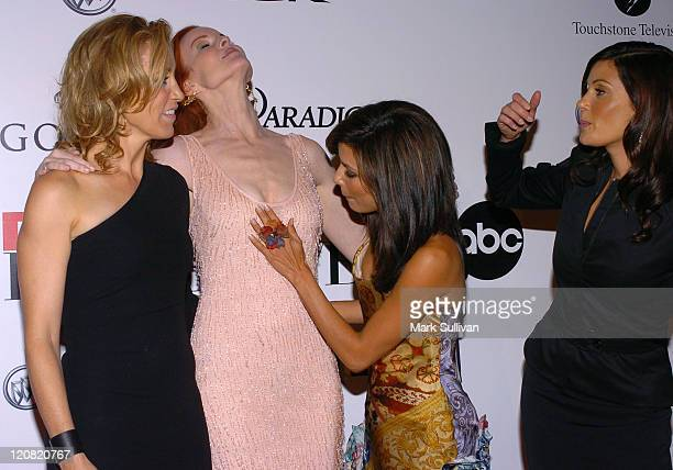Felicity Huffman Marcia Cross Eva Longoria and Teri Hatcher