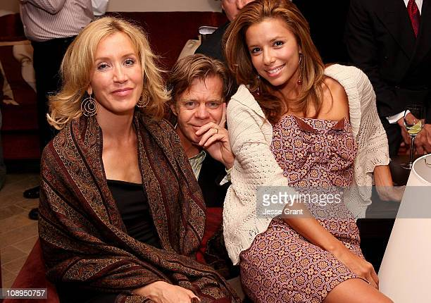 Felicity Huffman William H Macy and Eva Longoria
