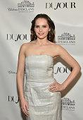 DuJour Cover Star Felicity Jones Celebrates Winter...