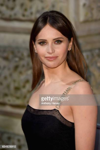 Felicity Jones attends the 70th EE British Academy Film Awards at Royal Albert Hall on February 12 2017 in London England