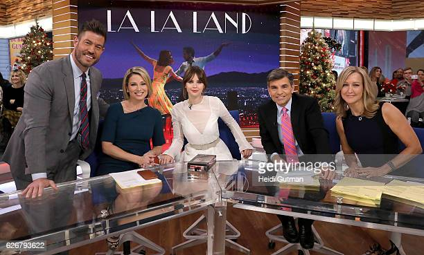 AMERICA Felicity Jones is a guest on 'Good Morning America' 11/28/16 airing on the ABC Television Network JESSE