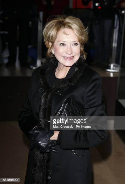 Felicity Kendall arrives at the Evening Standard Theatre Awards held at the Royal Opera House in Covent Garden London
