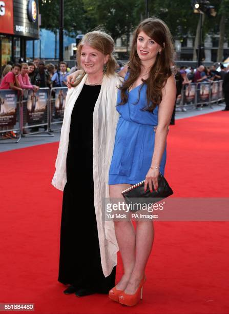 Felicity Montagu arriving for the premiere of Alan Partridge Alpha Papa at the Vue West End in Leicester Square central London