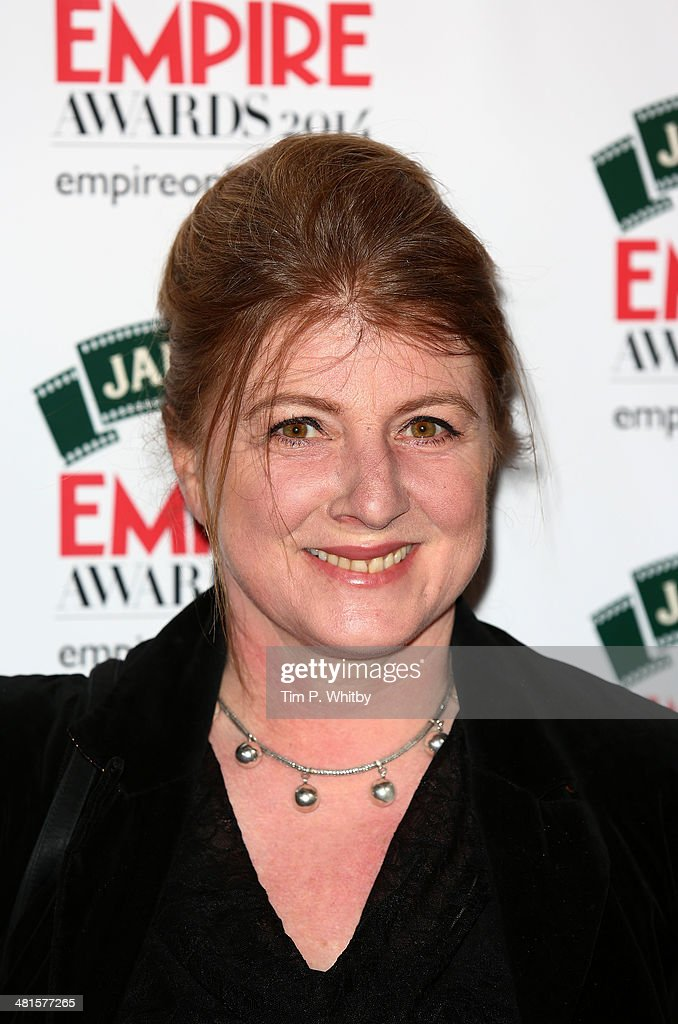 Felicity Montagu attends the Jameson Empire Awards 2014 at the Grosvenor House Hotel on March 30, 2014 in London, England. Regarded as a relaxed end to the awards show season, the Jameson Empire Awards celebrate the film industry's success stories of the year with winners being voted for entirely by members of the public. Visit empireonline.com/awards2014 for more information.