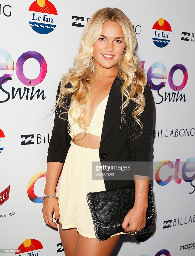 Felicity Palmateer at the 2013 CLEO Swim Party at The Bucket List on November 26, 2013 in Sydney, Australia.