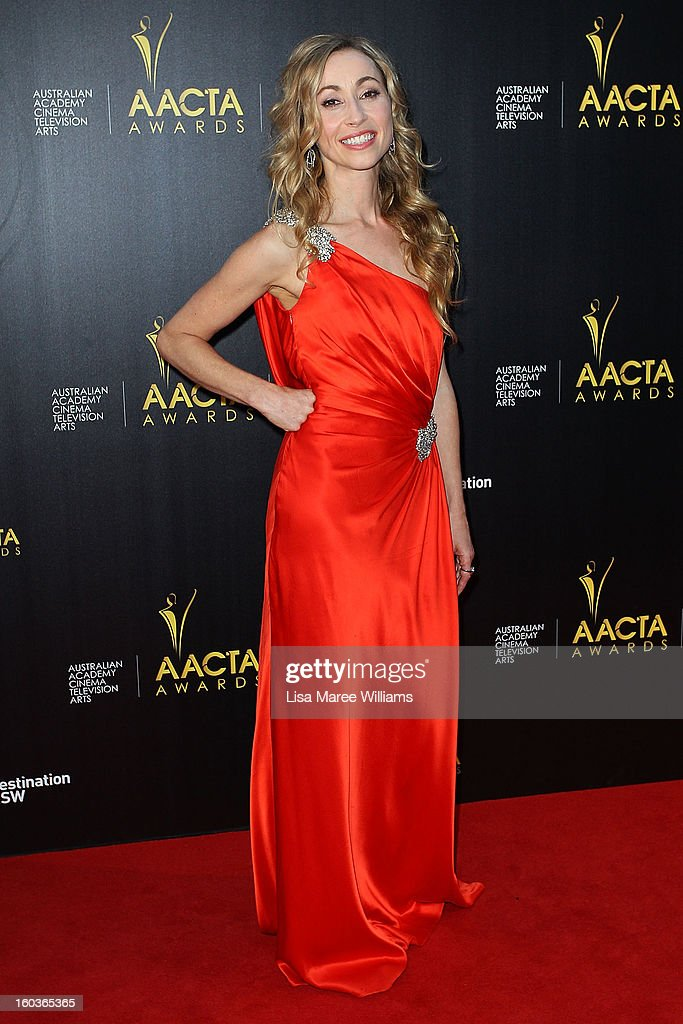 Felicity Price arrives at the 2nd Annual AACTA Awards at The Star on January 30, 2013 in Sydney, Australia.