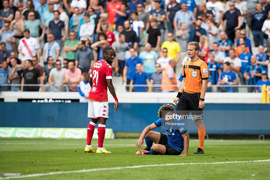 Felie Gedoz De Conceicao midfielder of Club Brugge during the Jupiler Pro League match between Club Brugge and Standard de Liege at the Jan Breyden...