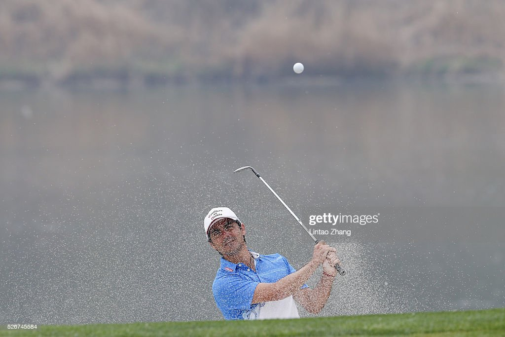 <a gi-track='captionPersonalityLinkClicked' href=/galleries/search?phrase=Felipe+Aguilar&family=editorial&specificpeople=562693 ng-click='$event.stopPropagation()'>Felipe Aguilar</a> of Chile plays a shot during the final round of the Volvo China open at Topwin Golf and Country Club on May 1, 2016 in Beijing, China.