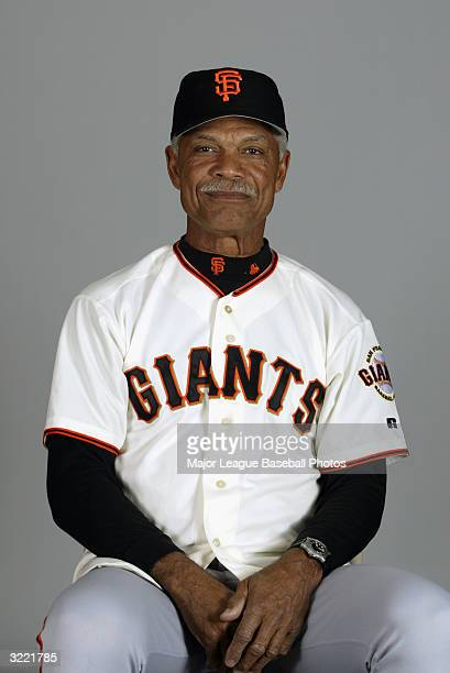 Felipe Alou Manager of the San Francisco Giants on March 2 2004 in Scottsdale Arizona