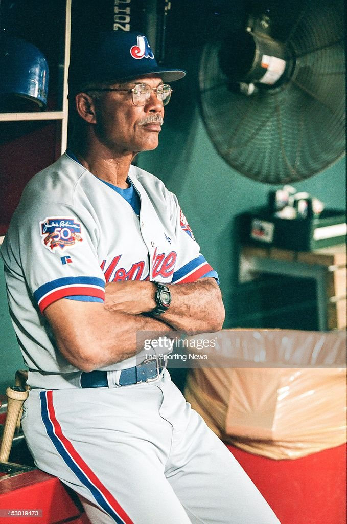 <a gi-track='captionPersonalityLinkClicked' href=/galleries/search?phrase=Felipe+Alou&family=editorial&specificpeople=93385 ng-click='$event.stopPropagation()'>Felipe Alou</a> of the Montreal Expos during the game against the St. Louis Cardinals on August 27, 1997 at Busch Stadium in St. Louis, Missouri.