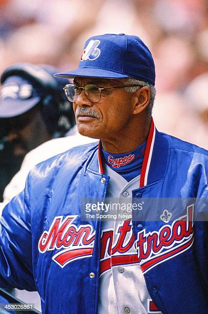 Felipe Alou of the Montreal Expos during the game against the St Louis Cardinals on April 29 1998 at Busch Stadium in St Louis Missouri