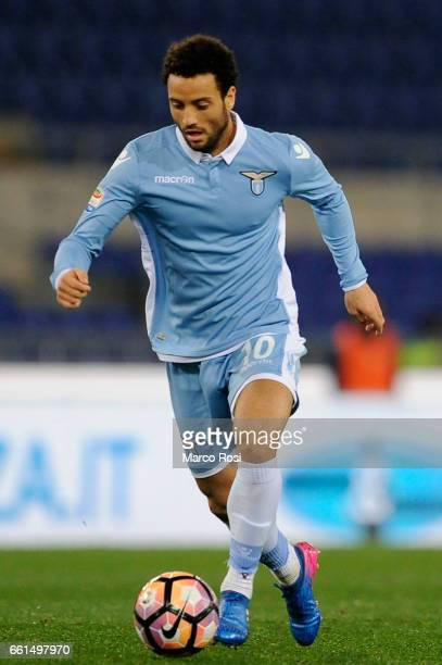 Felipe Anderson of SS lazio during the Serie A match between SS Lazio and FC Torino at Stadio Olimpico on March 13 2017 in Rome Italy