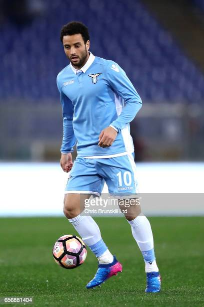 Felipe Anderson of SS Lazio in action during the Serie A match between SS Lazio and FC Torino at Stadio Olimpico on March 13 2017 in Rome Italy