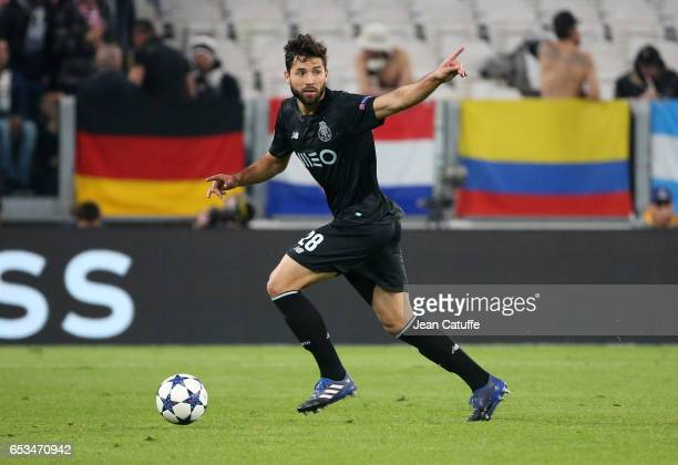 Felipe Augusto de Almeida Monteiro of FC Porto in action during the UEFA Champions League Round of 16 second leg match between Juventus Turin and FC...